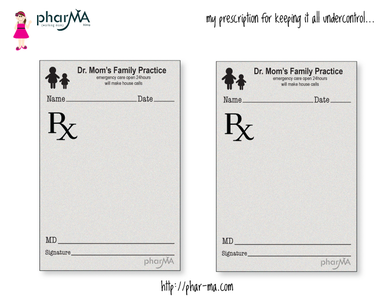 Pin Blank Doctor Prescription Form Template on Pinterest
