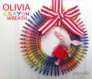 DIY Crayon Wreath
