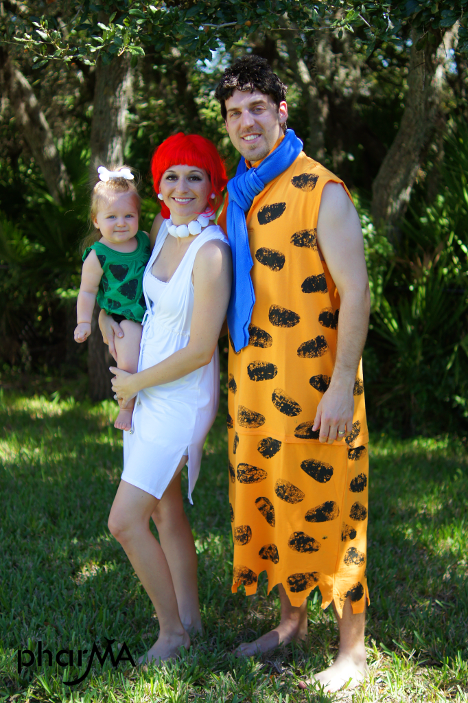 Flintstones DIY Halloween Costumes