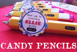 Candy Pencil Craft, Teacher Craft, Back to School, Art Party
