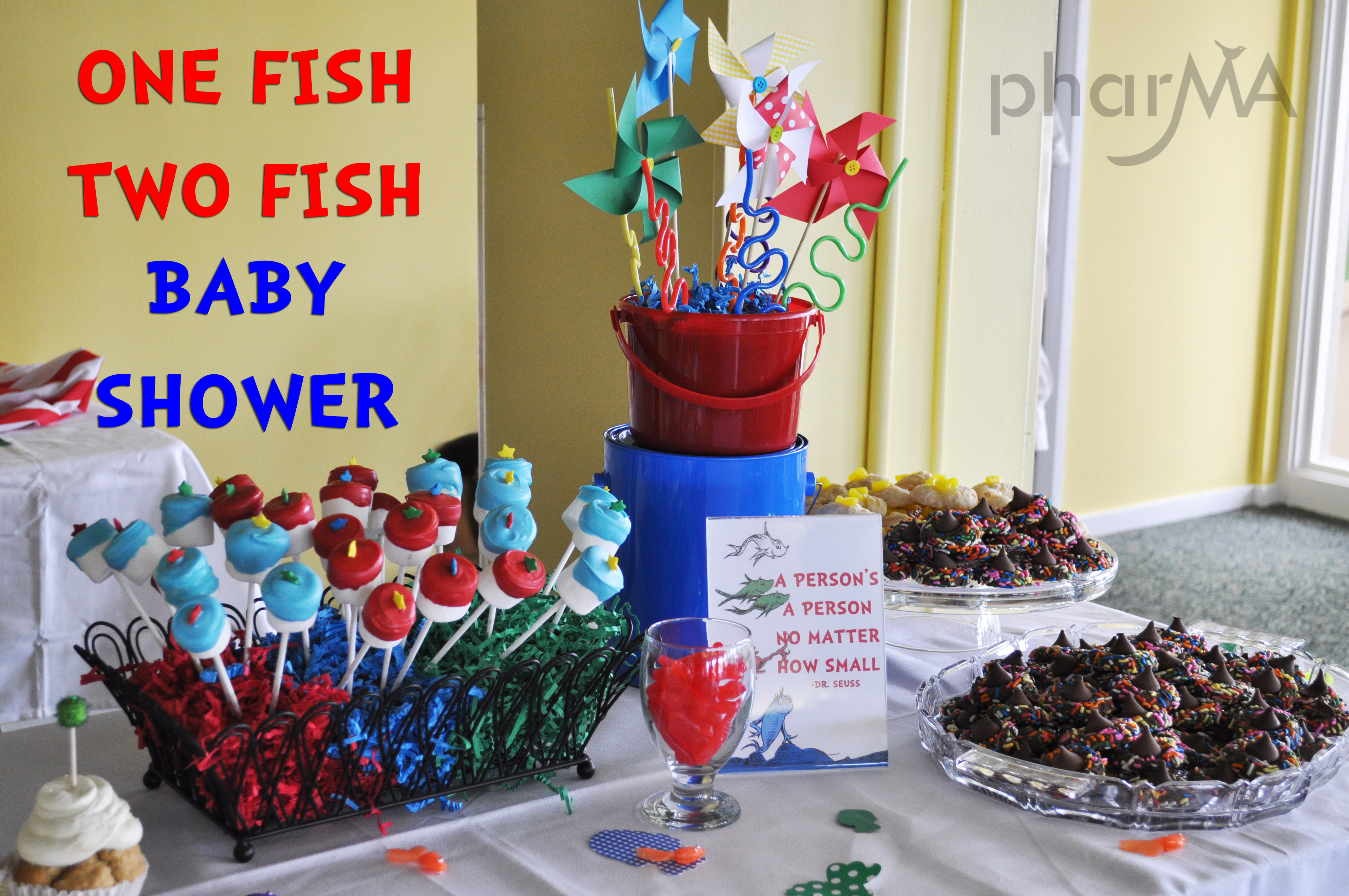 One fish two fish baby shower the pharma blog for Fishing baby shower