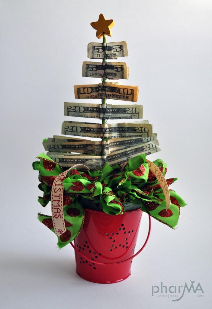 Christmas money tree the pharma blog for Xmas creative ideas