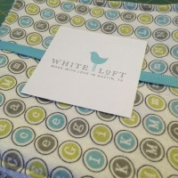 White Loft Custom Bedding
