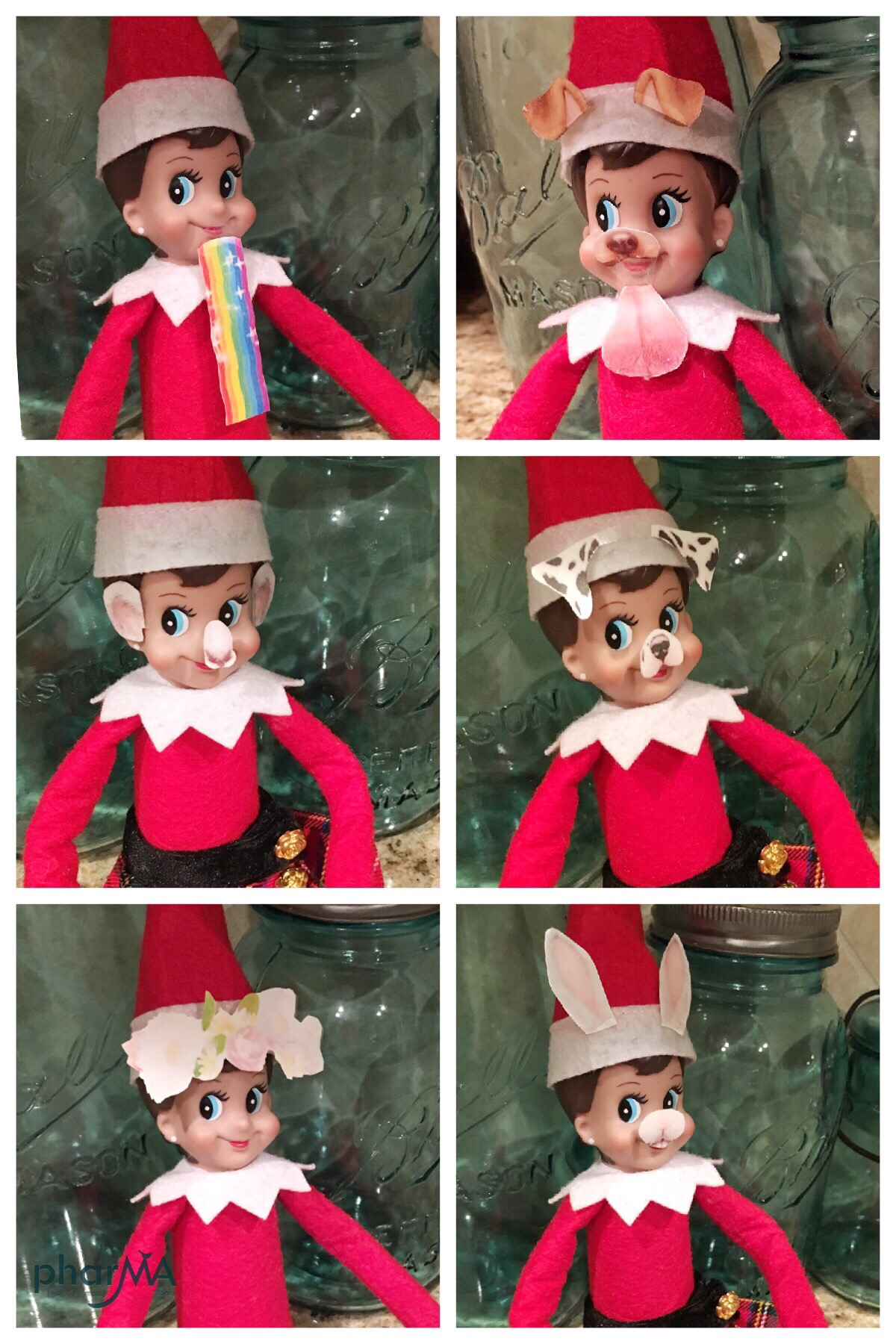 picture regarding Printable Snapchat Filters titled Elf Snapchat Printable - The PharMA